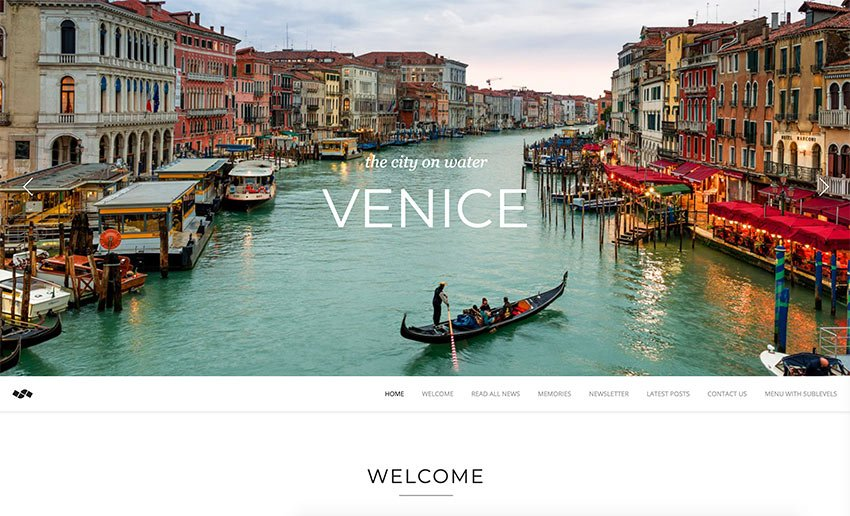 See the parallax scrolling in action in the Newave - WordPress Responsive One Page Parallax preview.
