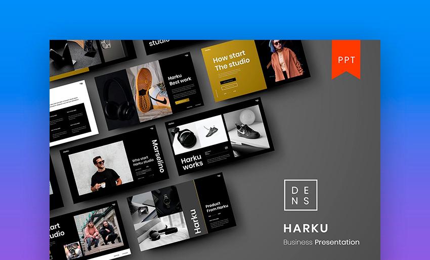 Harku – Business PowerPoint Template
