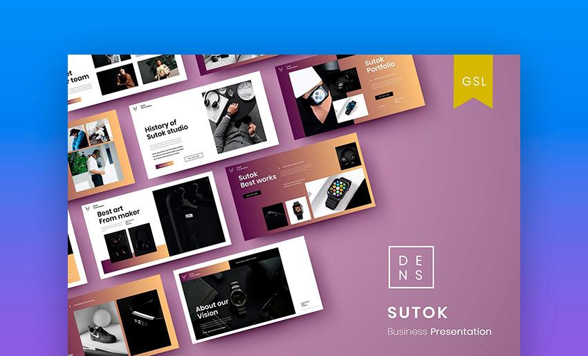 Sutok - Business Google Slide Template
