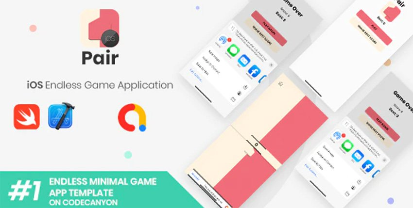 Pair - iOS Xcode Game Template