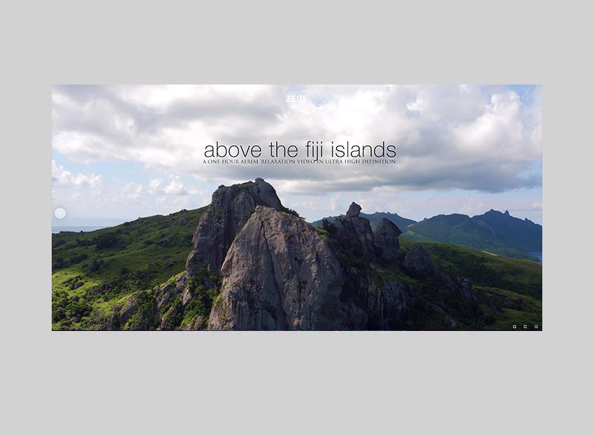 Zeus - Fullscreen Video & Image Theme