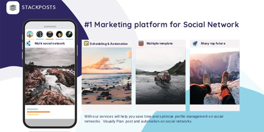 Stackposts - PHP Script Social Marketing Tool
