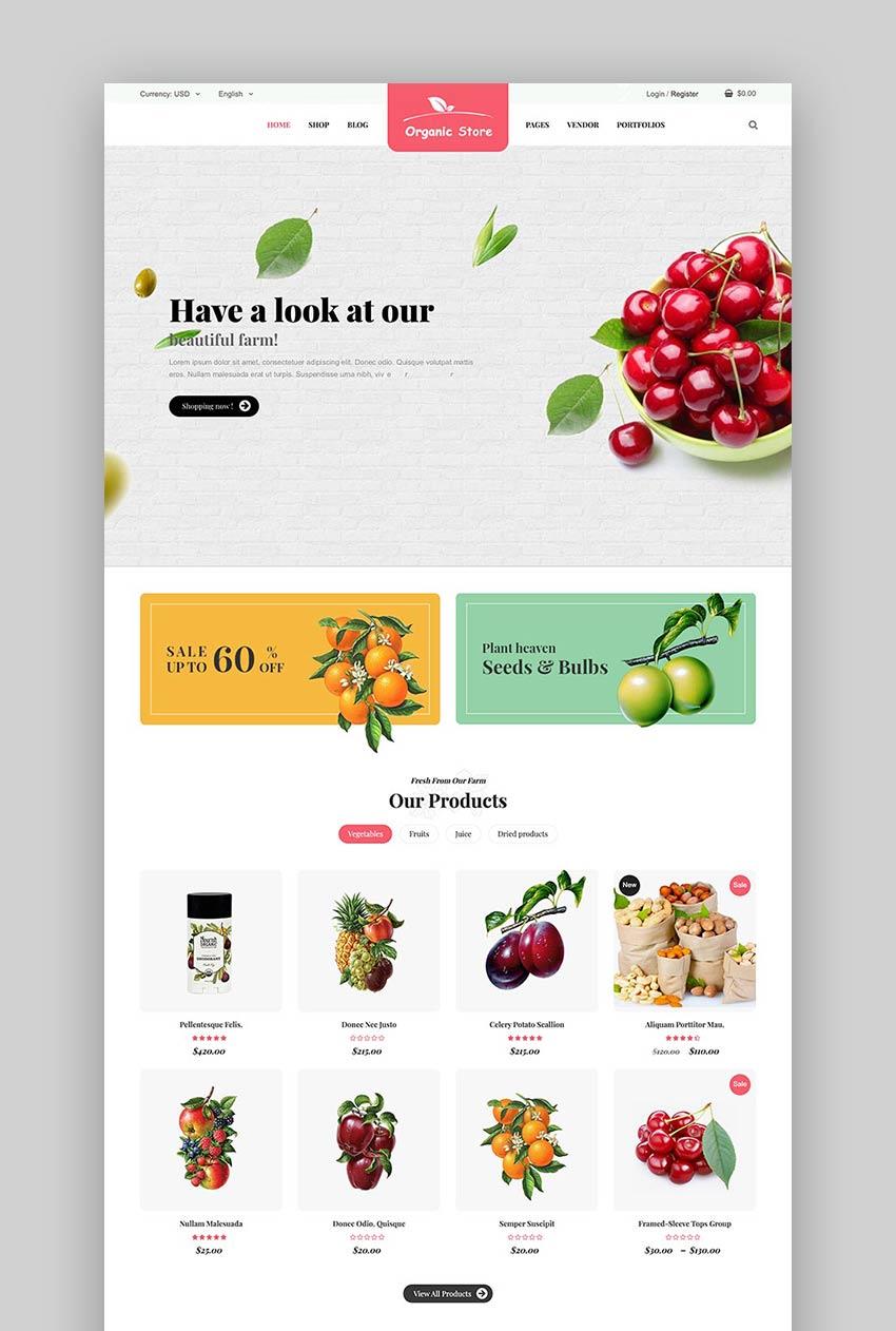 Ordo - Natural Cosmetics WooCommerce WordPress Theme