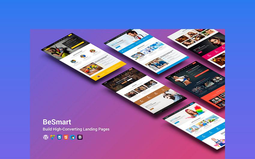 BeSmart High-Converting WordPress Landing Page
