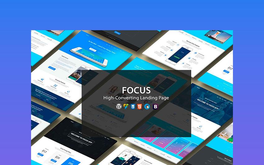Focus High Converting Landing Page WordPress Theme