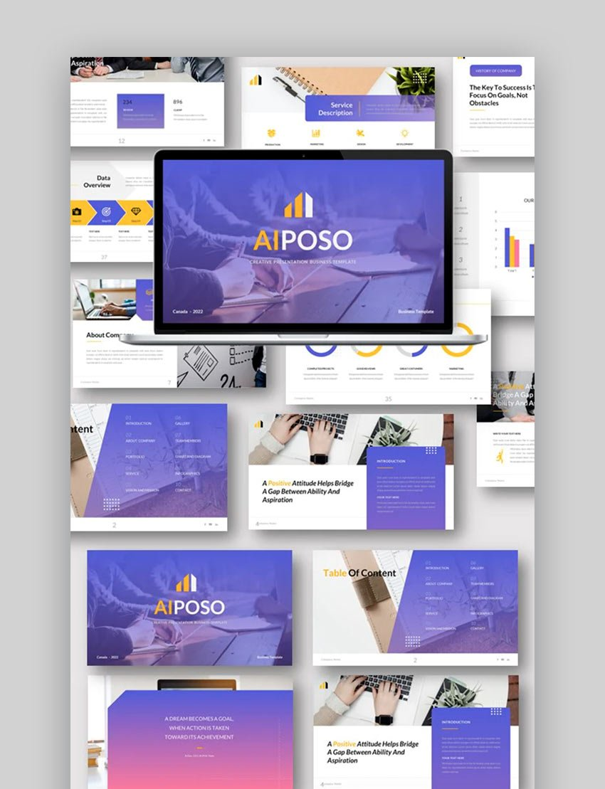 Aiposo - Business Google Slides Template
