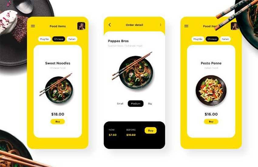 Get this modern Ionic restaurant app template from CodeCanyon.