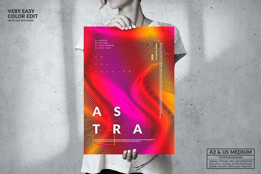 Music Event - Modern Poster Design (PSD)
