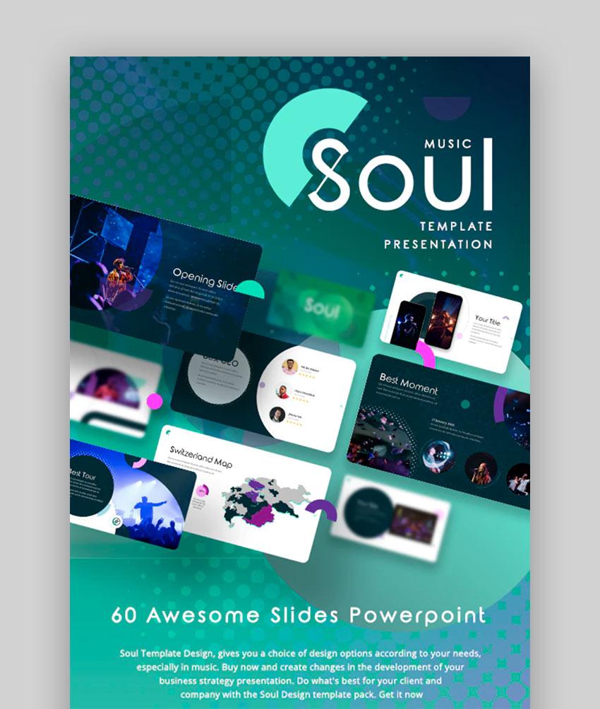 Soul - Premium PPT Music Theme