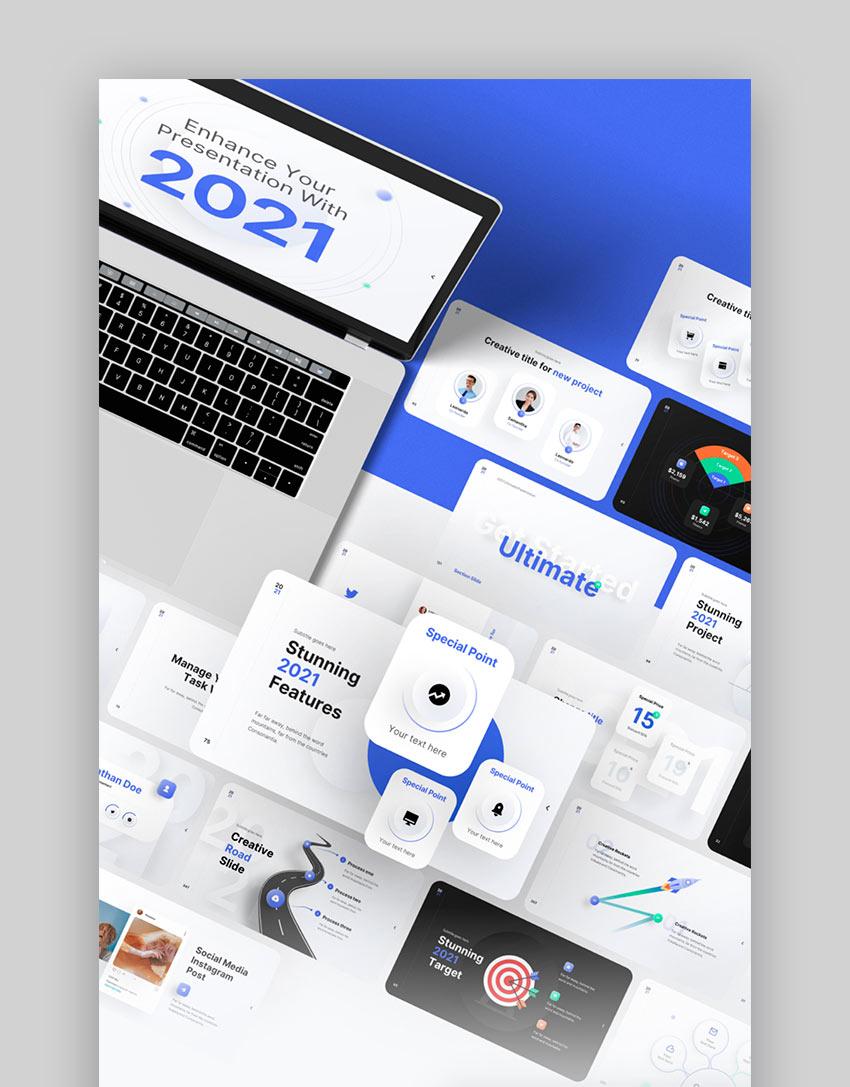 2021 Ultimate Multipurpose Keynote Template