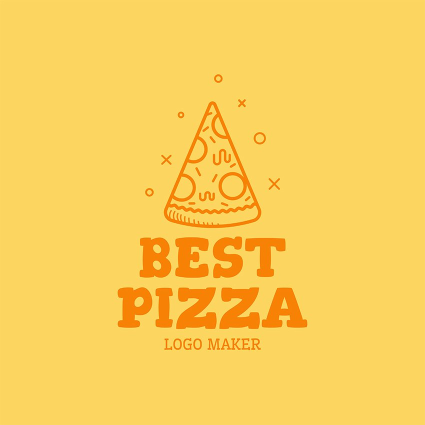Restaurant Logo Maker With Pizza Clipart