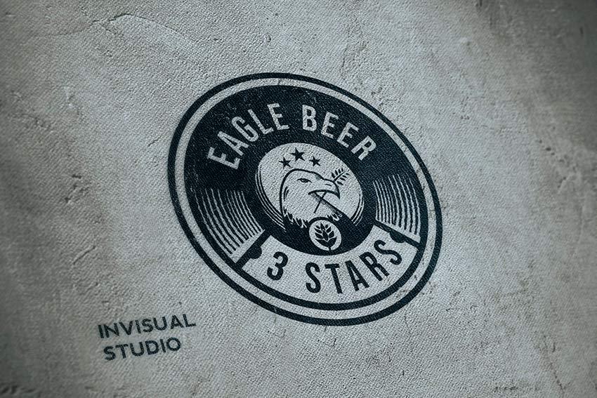 Eagle Beer Logo Design (AI, EPS, PNG, JPG)