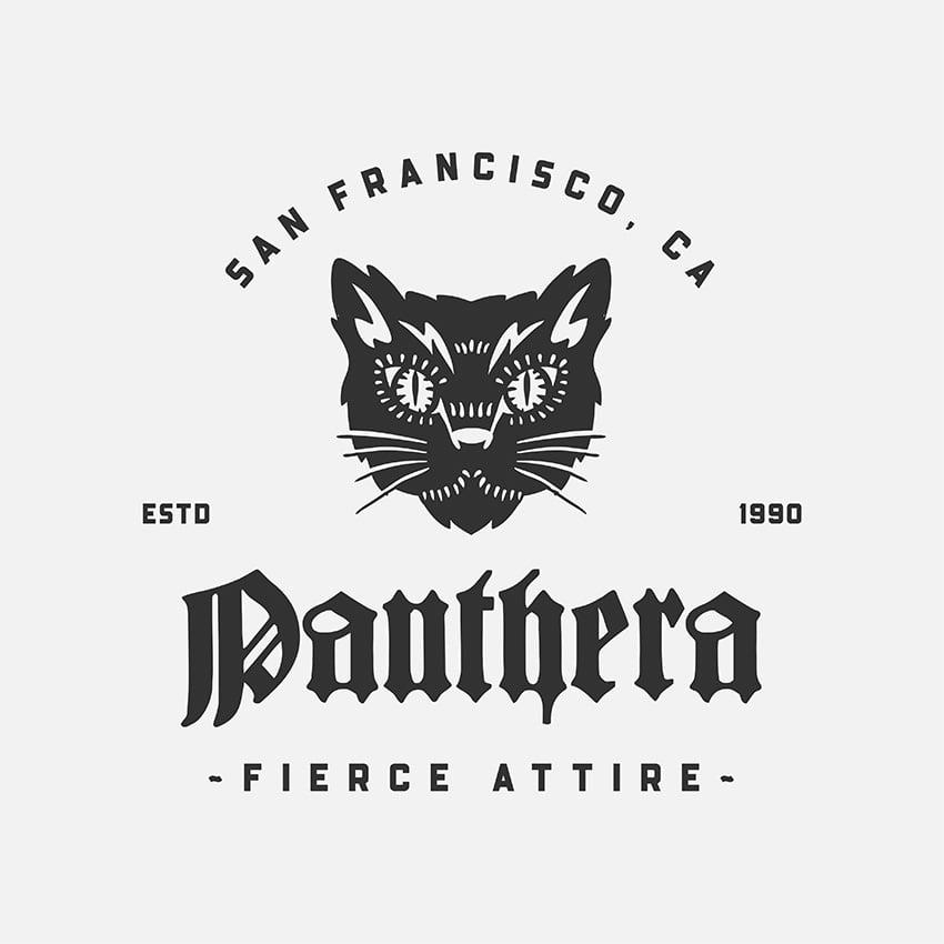 Clothing Brand Logo Maker with Tattoo Illustration