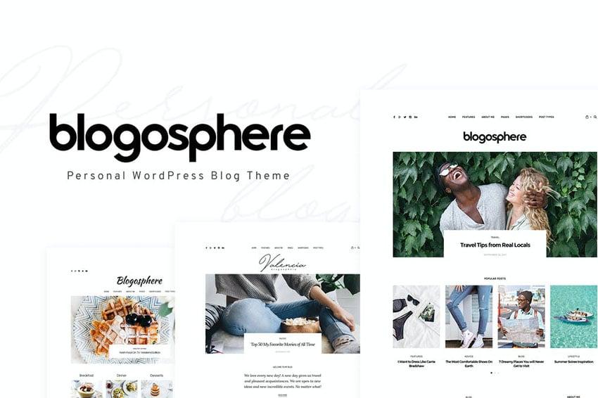 Blogosphere - Multipurpose Blogging Theme