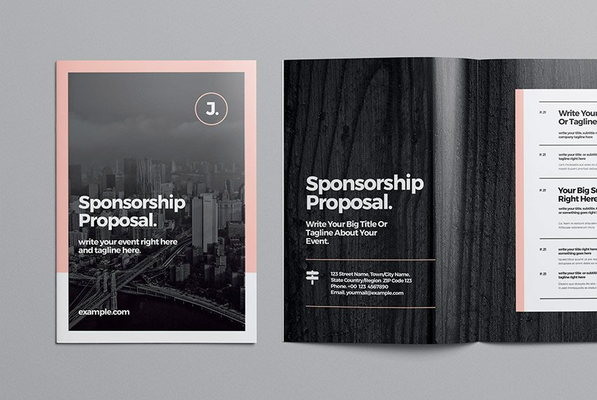 Use this new event sponsorship proposal template for your next project.