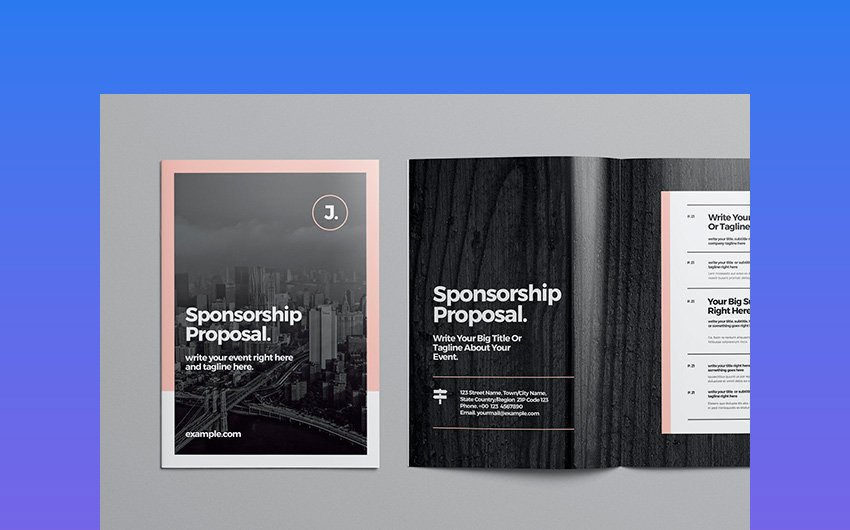 Modern Sponsorship Proposal Template
