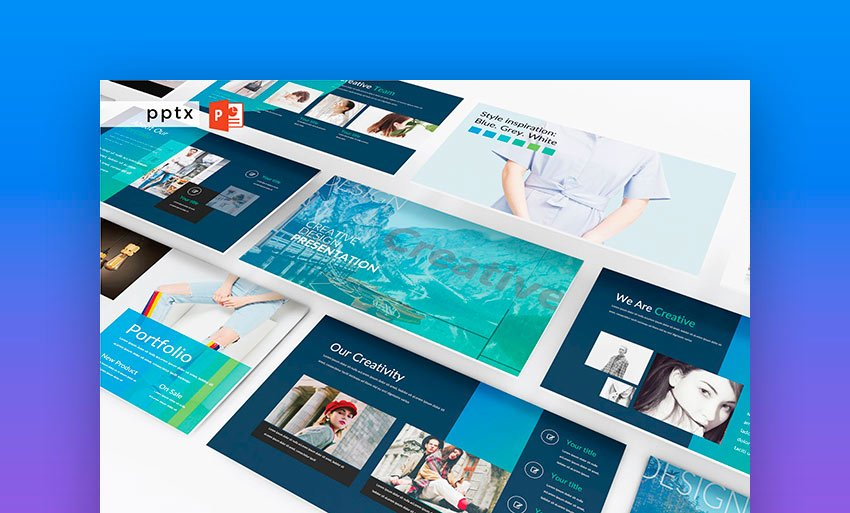 CREATIVE DESIGN - Powerpoint Template