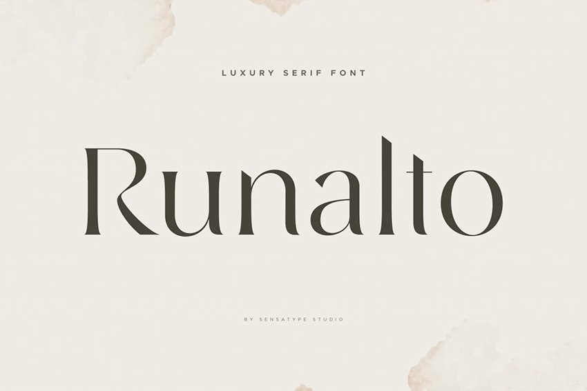 Runalto - Luxury Serif Font