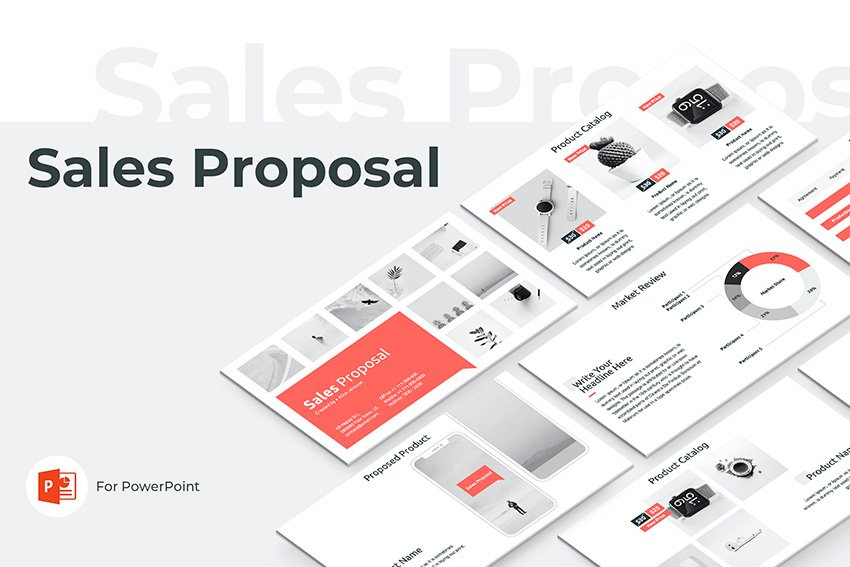 sales PPT template