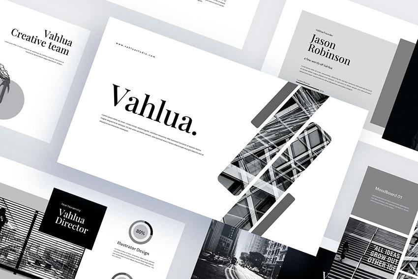 Vahlua - Business Powerpoint Template