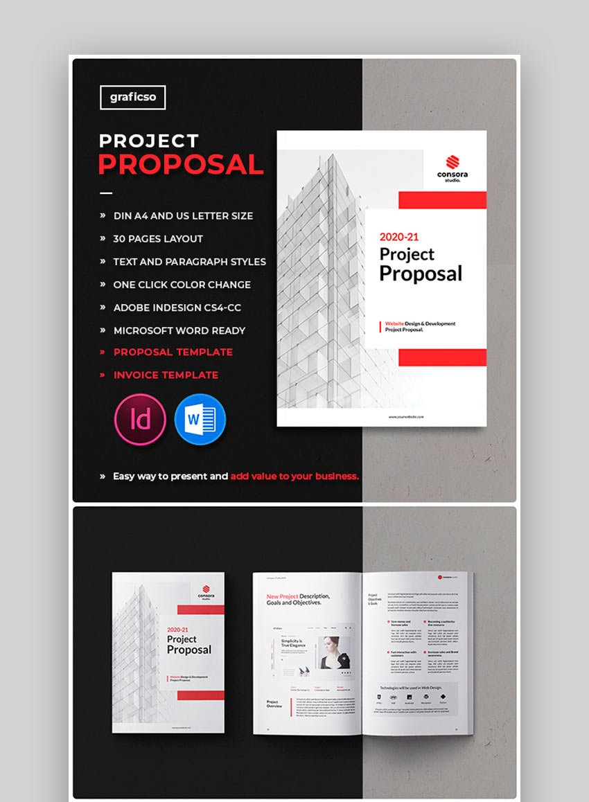 Project Proposal Word Templates