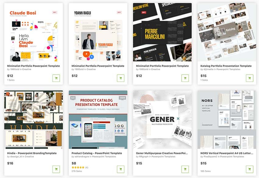 GraphicRiver features premium pay-as-you-go PowerPoint brochure templates. Get single designs and keep costs low.