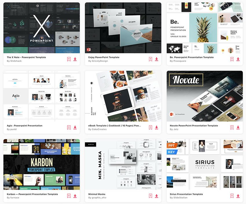 Envato Elements offers you thousands of custom PowerPoint templates.