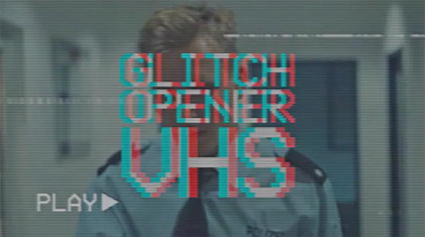 Glitch VHS - Premiere Pro Opener Template