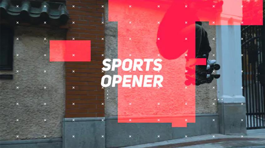 Sports Premiere Pro Opener Template