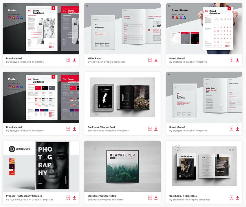 Enjoy unlimited Affinity Publisher templates downloads from Envato Elements.