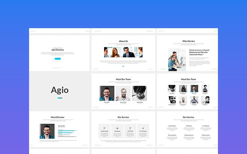 Agio - PowerPoint Template Premium
