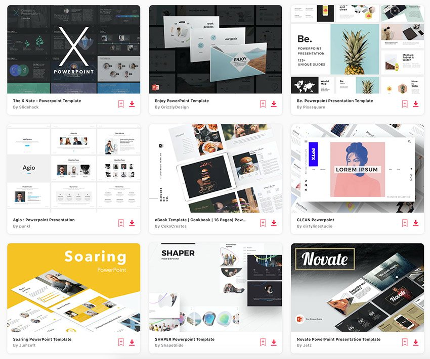 These are some of the best premium PPT templates on Envato Elements.