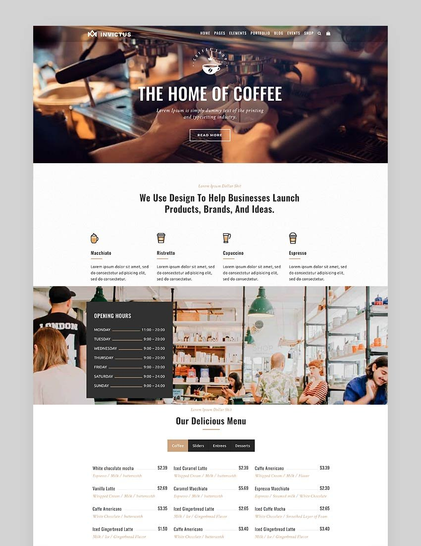 Invictus - Creative MultiPurpose Super WordPress Theme