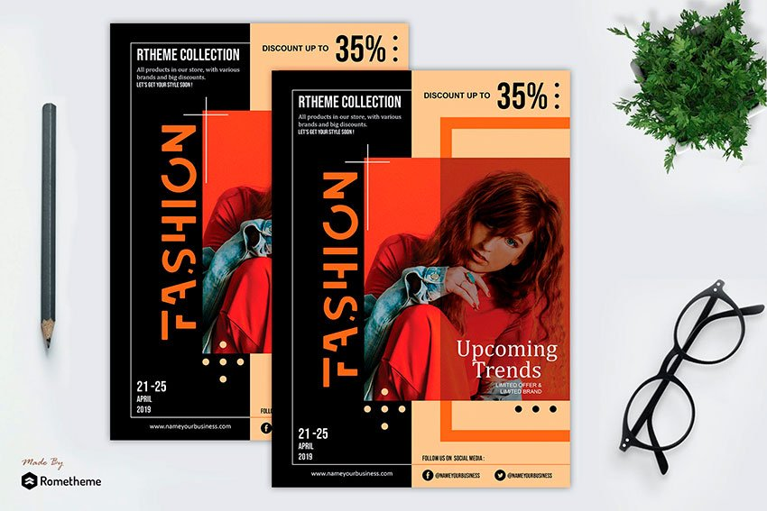 Fashion Modern Flyer Vol. 08 (PSD)