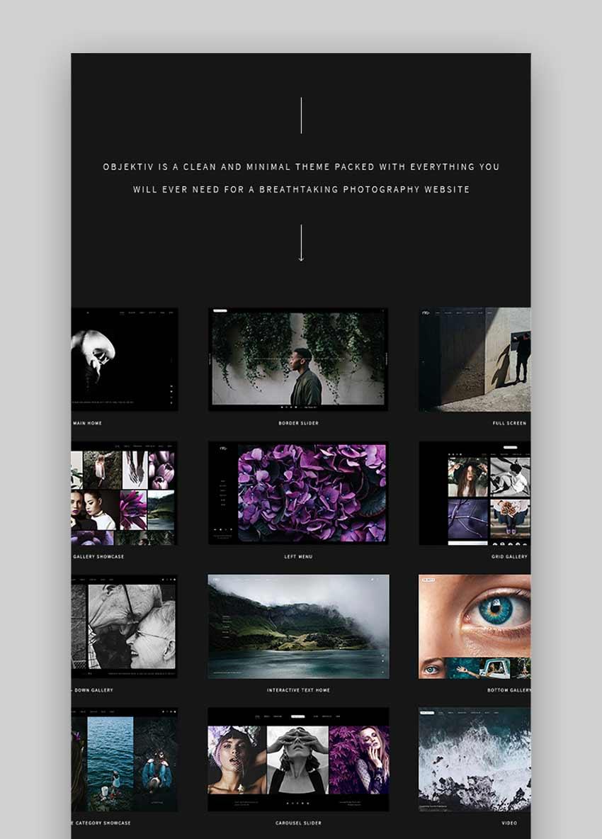 Objektiv - Photography Theme