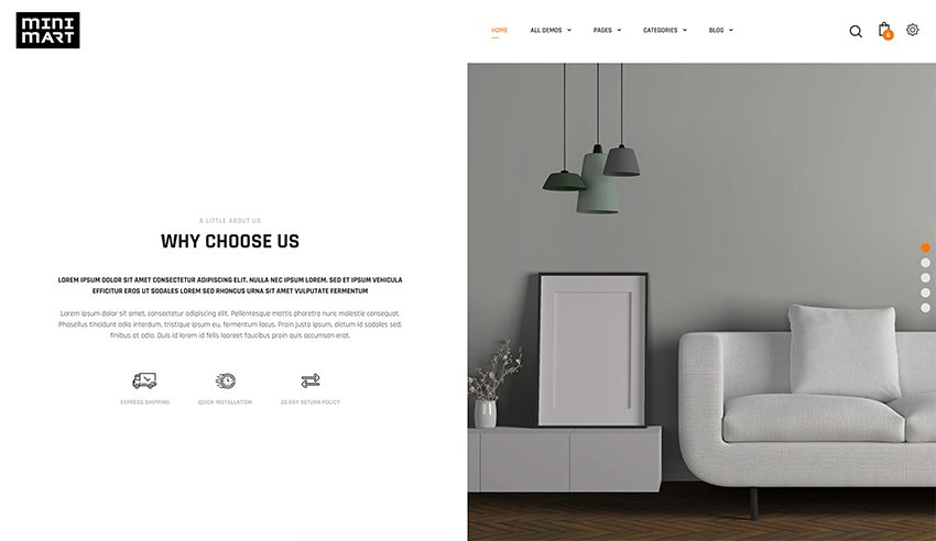 Minimart - Shopify Minimal Theme