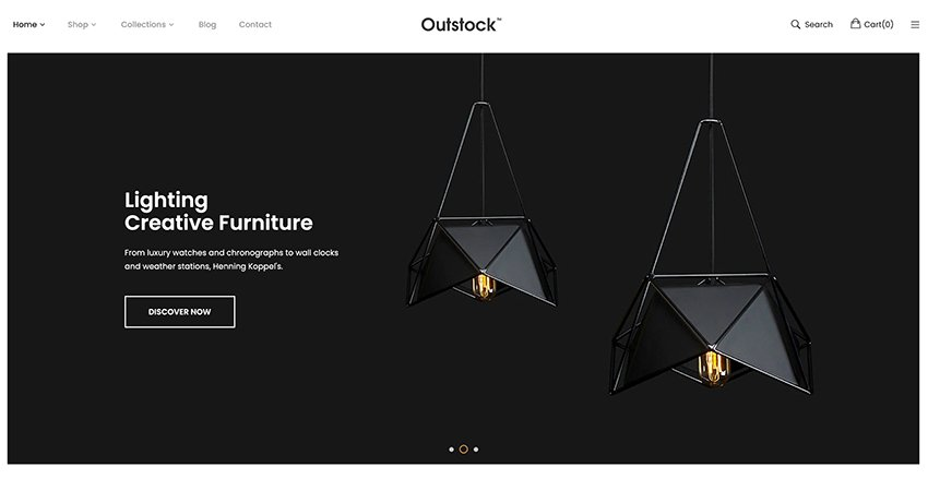 Outstock - Shopify Minimal Clean Theme