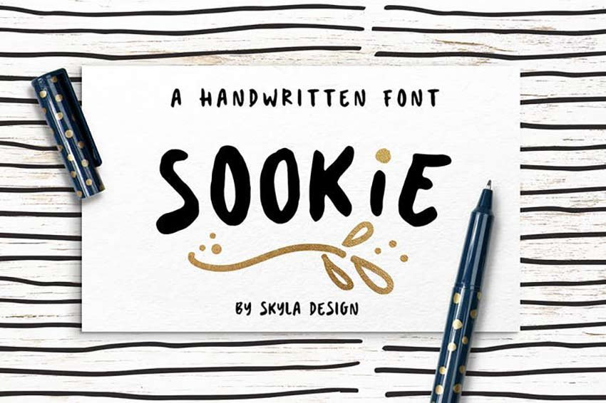 Sookie Cute Handwritten Font
