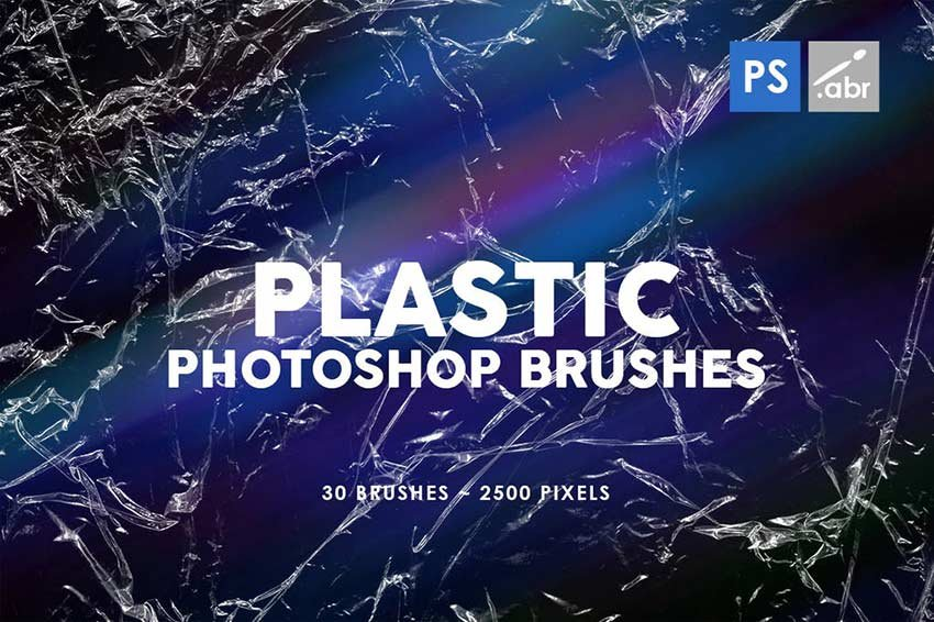 Plastic Photoshop Stamp Brushes
