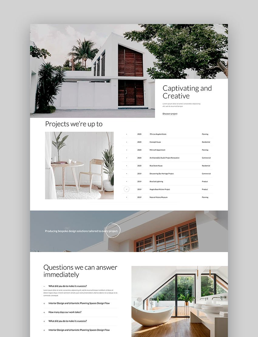 Moora - Architecture and Interior Theme