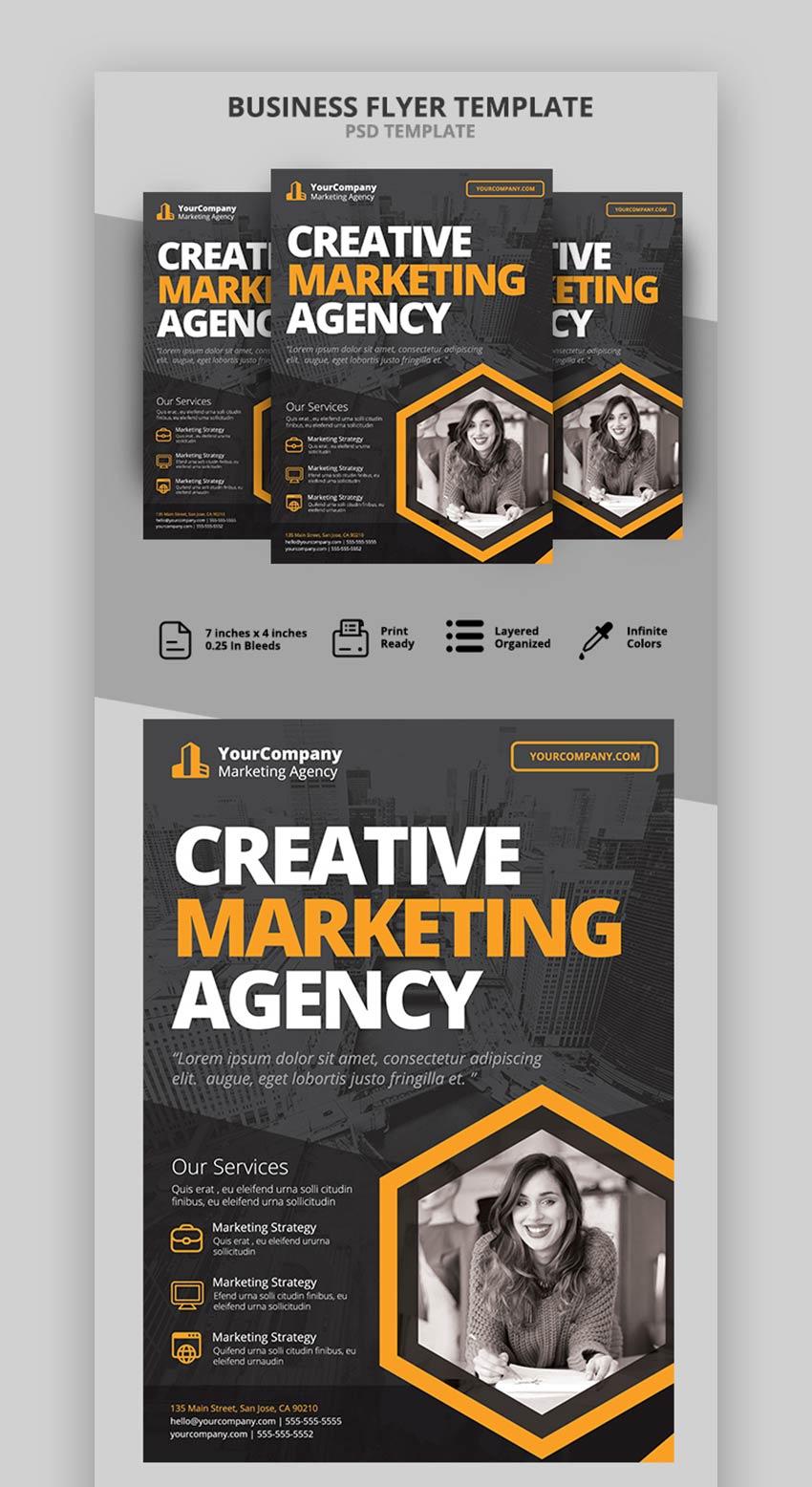 Agency Marketing Flyer