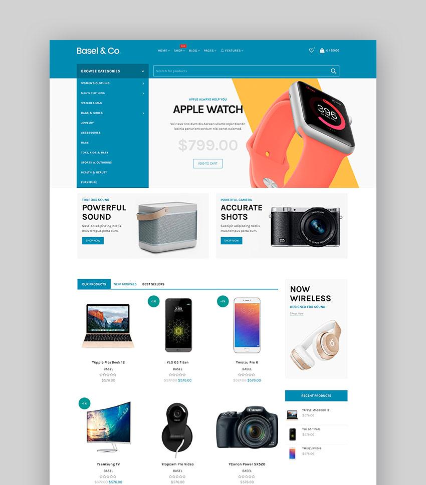 Basel - Electronics Shopify Theme