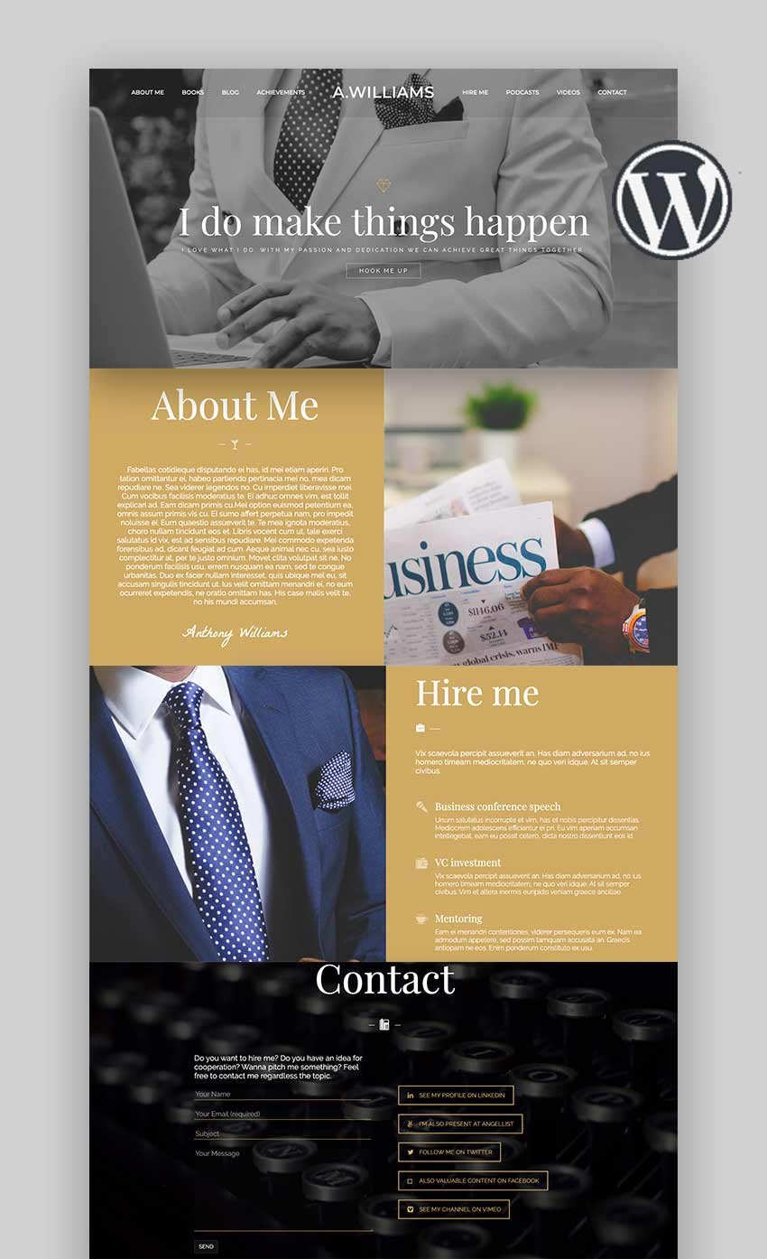 Skylar - Fast Optimized  Highly Customizable Multi-Purpose WordPress Theme