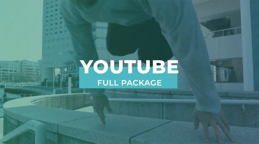 FCPX Youtube Graphics Pack
