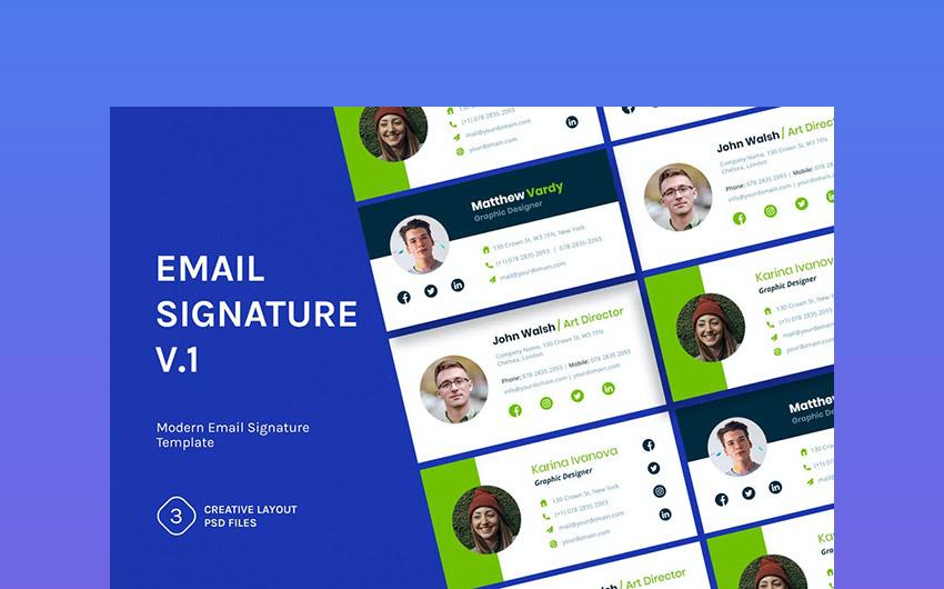 Email Signature v1