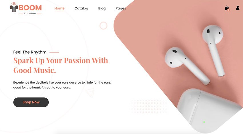 Boom - One Product Electronics Shopify Theme