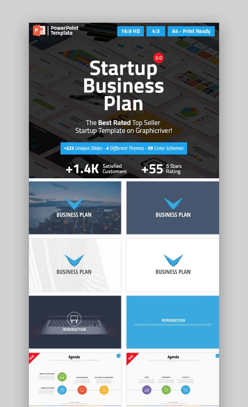 Startup Business Plan PPT Pitch Deck