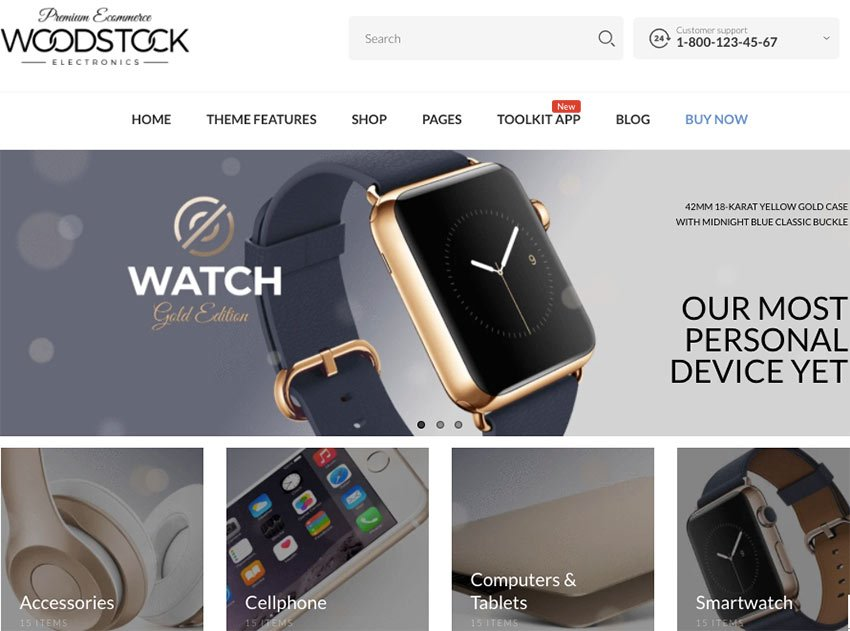 Woodstock - Fastest Shopify Sections Theme