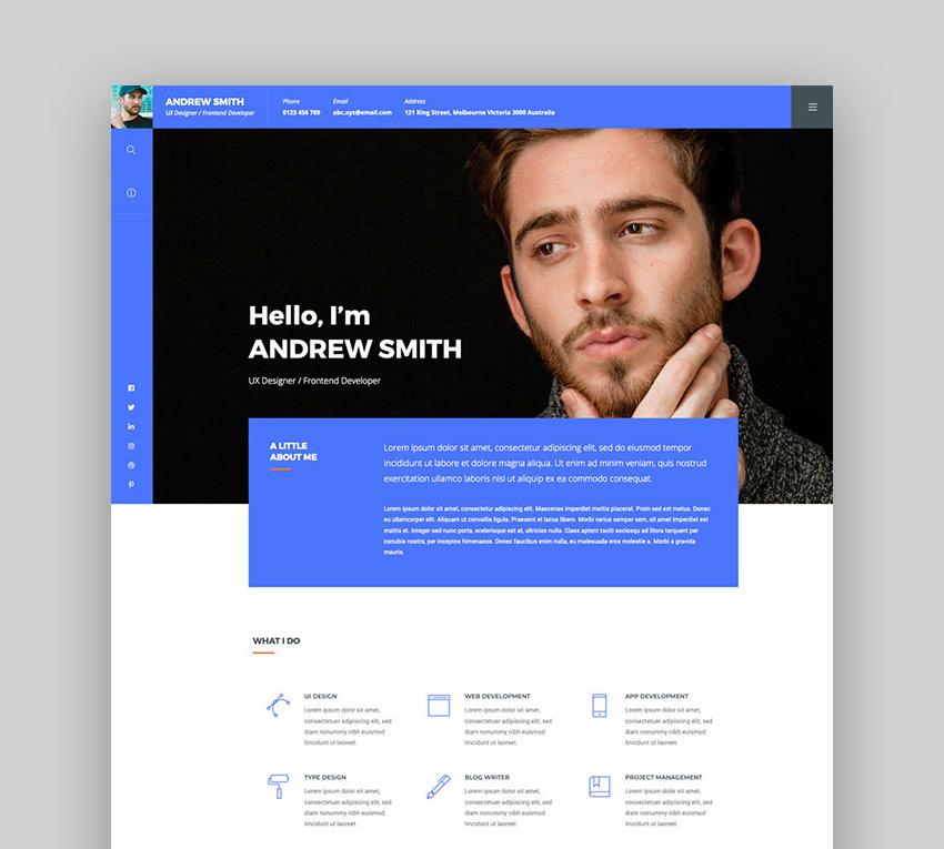 ORB - Creative Portfolio WordPress Theme