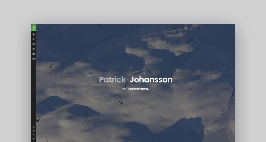 Patrick - vCard One Page WordPress Theme